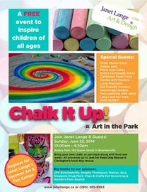 Chalk It Up @ Art In the Park