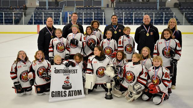 Kitchener Girls Atom A Hockey