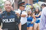 Police celebrate carnival