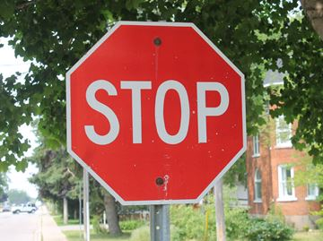 Theft of stop sign concerns Grey OPP