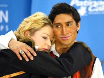 Coach and skater Sandhu
