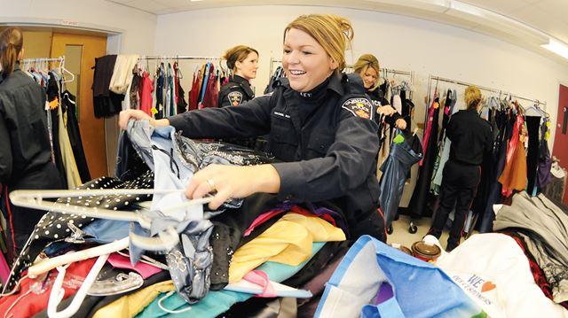 32b93ea5af0 Durham police hold Gowns For Girls