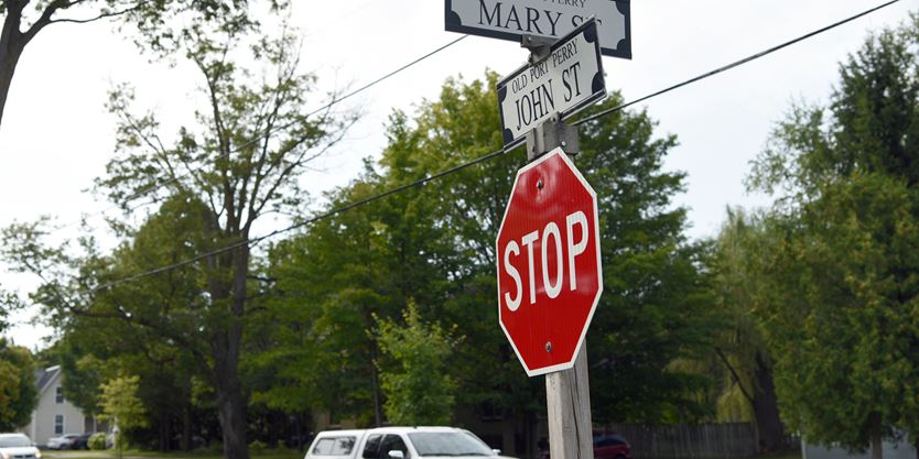 Scugog takes the safe road with four-way stop addition