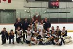 Barrie Minor PeeWees win title