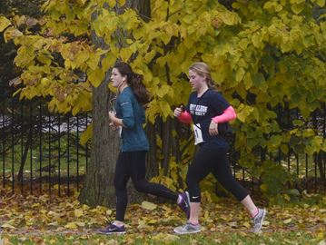Appleby College walkathon brings students together to raise money for charities