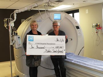 Gravel company donates to Collingwood Hospital