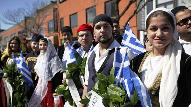 Greek Independence Parade