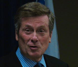 Mayor John Tory