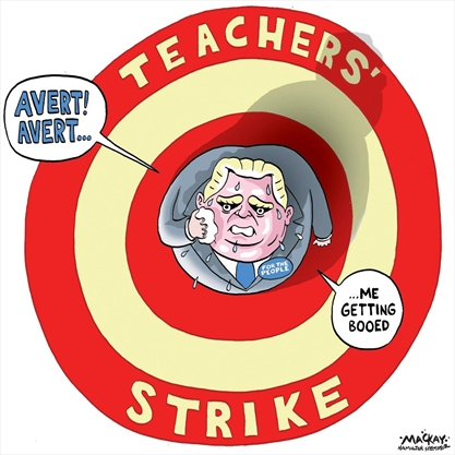 MacKay's Editorial Cartoon for Nov. 13.