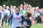 Holy Cross feeder school cross-country race