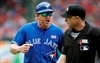 Bautista, Jays fall to Rangers as simmering feud boils over