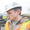 Soil sample from proposed subway route