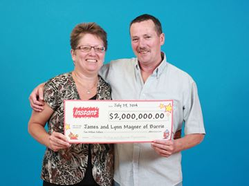 Barrie couple wins $2 million