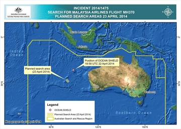 Material on Australian shore examined in jet hunt-Image1