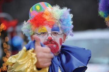 No clowning around