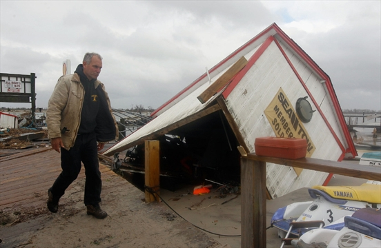 Storm s cost could hit 50 billion but reconstruction for Ted s fishing station