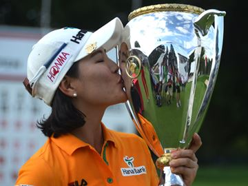 Ryu wins CP Women's Open in record fashion