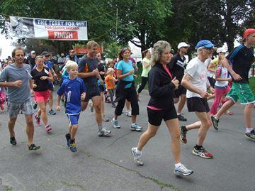 Orillia Terry Fox Run going strong