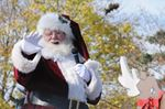 Santa parades through Pickering