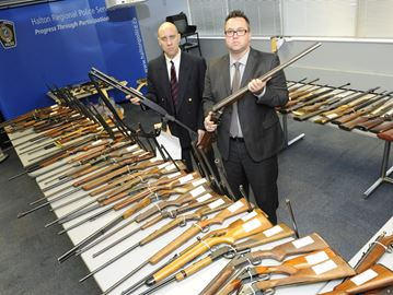 Halton police holding Firearms and Weapons Amnesty Oct. 19-29