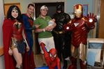 Superheroes regular visitors for children at Oakville Trafalgar Memorial Hospital
