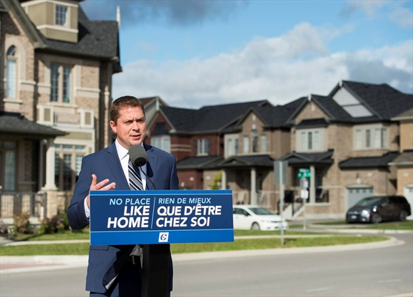 Andrew Scheer pledges to allow longer mortgages, remove 'stress test' for renewals