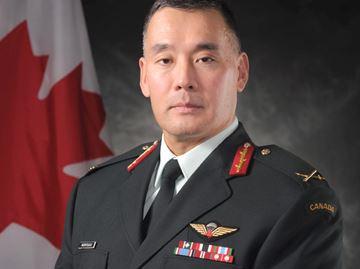 Newly-promoted Brigadier-General Moritsugu