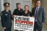 CrimeStoppers signs