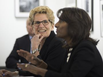 Premier talks business, economy during recent visit to Milton