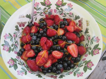 Macerated Berries with Grand Marnier