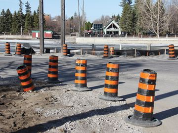 Construction begins on Clegg Street crossing