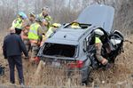 Driver extricated from vehicle in rural Milton crash