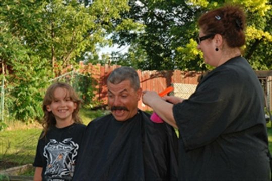 Boy, stepfather chop it off for charity | BramptonGuardian.com
