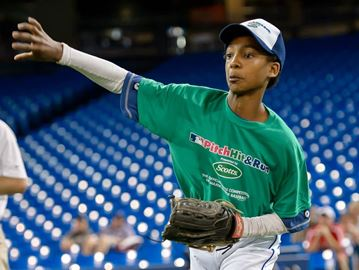 Oakville 11-year-old to compete for Pitch Hit & Run title at MLB All-Star Game