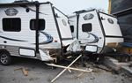 RVs damaged