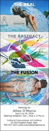 The Real: The Abstract:: The Fusion; artwork by Allan O'Marra