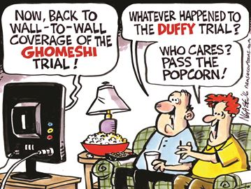 Today's cartoon: The ultimate in reality TV