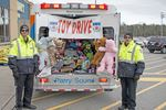 EMS Toy and OPP food drives