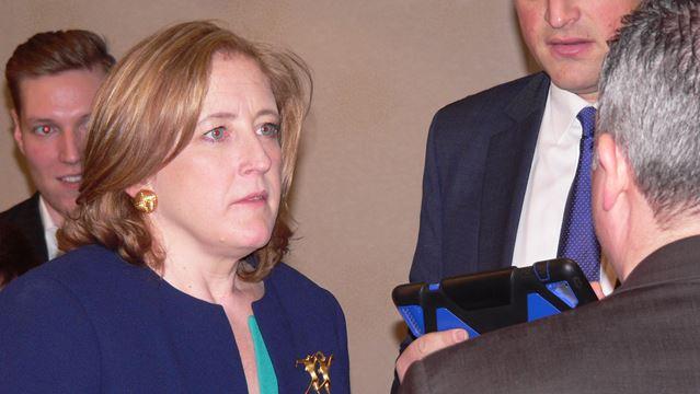 Conservative Party leadership contender MP Lisa Raitt