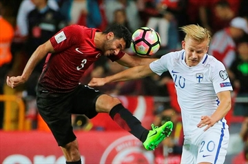 Tosun scores 2 in 4 minutes to help Turkey beat Finland 2-0-Image1