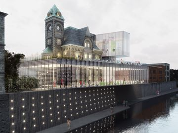 Former Galt post office project rendering