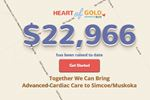 Heart attack map promotes campaign in Barrie