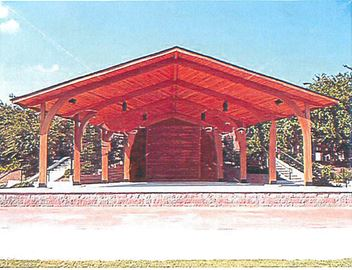 The park's new band shell