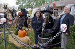 Beamer Avenue Halloween Display