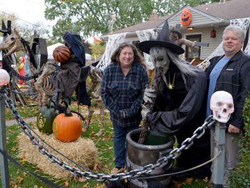 Beamer Avenue Halloween Display