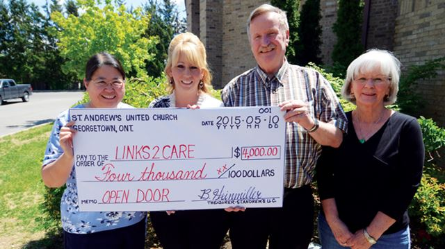St. Andrew's United Church holds annual auction