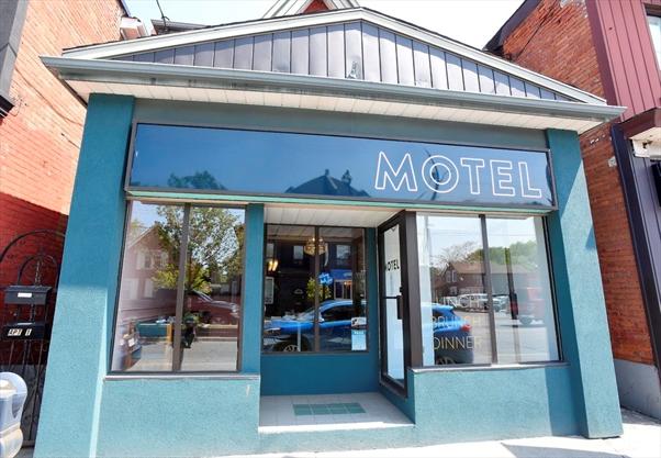 Motel Restaurant Barton St Hamilton