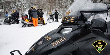 OPP snowmobile/file photo