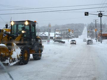 SNOW BLANKETS DOWNTOWN HUNTSVILLE