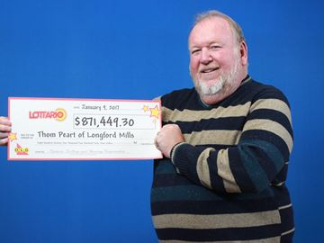 Longford Mills man and wife cry 'tears of joy' following lottery win